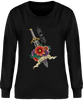 (new) Sweat Col rond Femme - Noir - Stay Sharp