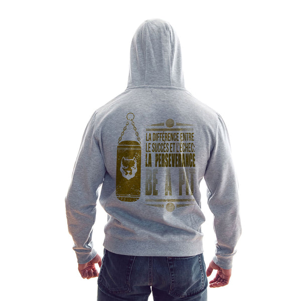 Sweat Capuche Homme Gris