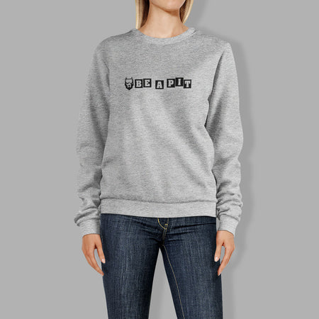 Sweat Col rond Femme - Gris