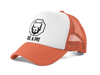 Casquette Filet Orange