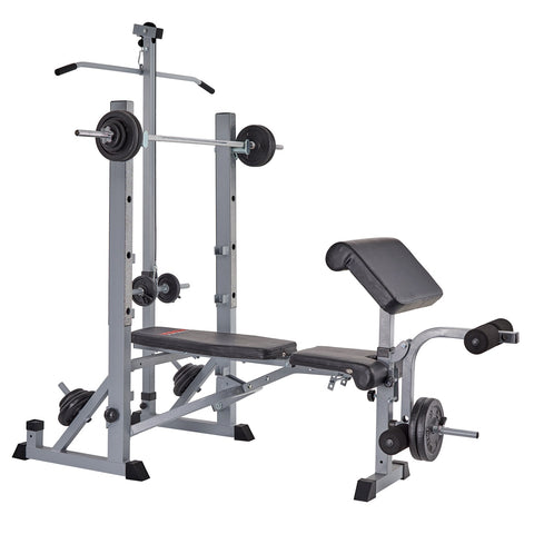 York Fitness 540 Bench with Preacher Curl Attachment