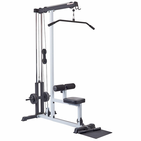 48051 York Barbell FTS Lat Pull Down and Low Row Machine