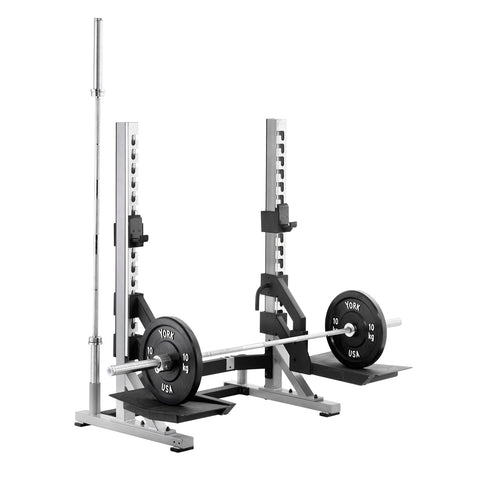 York Barbell 55051 STS Collegiate Rack with scoops