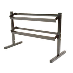 York Fitness 2 Tier Dumbbell Rack
