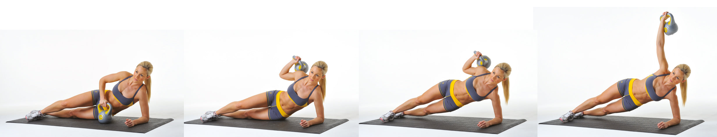 Kettlebell Side Bends