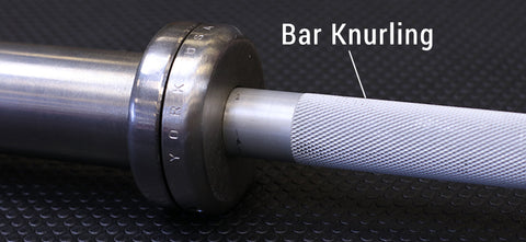 Olympic Bar Knurling
