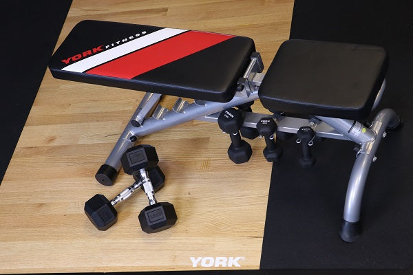York Fitness Dumbbell Bench - Garage Gym Equipment