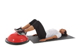 Bridge with Single Leg Raise with York Fitness Tone Dome