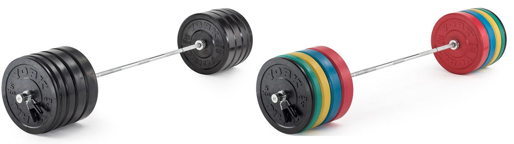 York Olympic Bumper Plates