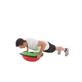Flat Side Press Up on York Fitness Tone Dome