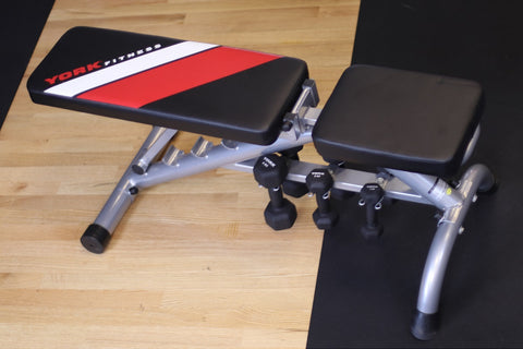 York Fitness Black Edition Dumbbell Bench