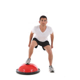 Jumping Ski Squat on York Fitness Tone Dome