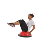 Knee Tuck Sit Ups on York Fitness Tone Dome