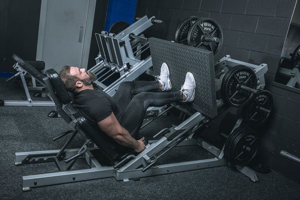 York Barbell 55035 STS Leg Press at Iron Gym Lisburn