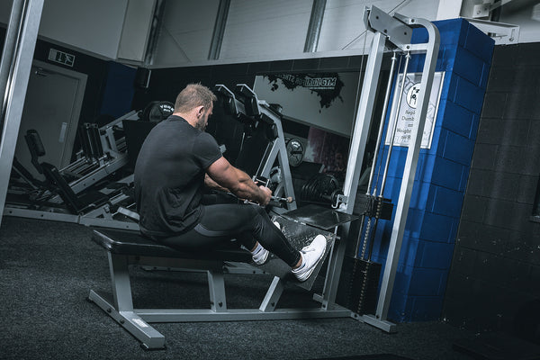 York Barbell 55019 STS Low Row in Iron Gym Lisburn