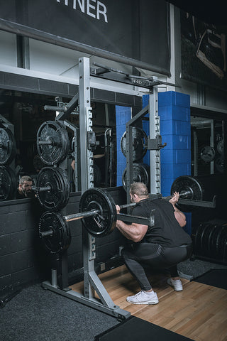 York Barbell 55009 STS Half Rack in Iron Gym Lisburn