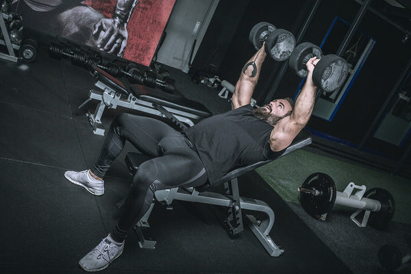 York Barbell 55027 STS Flat to Incline Bench in Iron Gym Lisburn