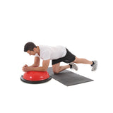 Plank with Arms on Dome with York Fitness Tone Dome