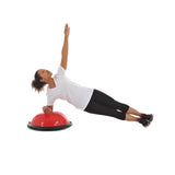 Side Plank on York Fitness Tone Dome
