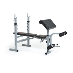 York Fitness 530 Barbell Bench with Preacher Curl Attachment