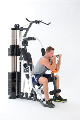 York Perform Home Gym Low Pull