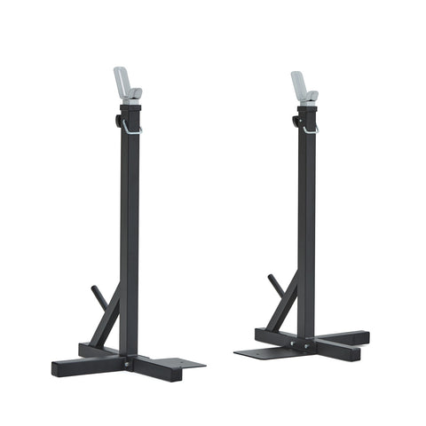 4025 York Fitness Heavy Duty Squat Stand in Low Position