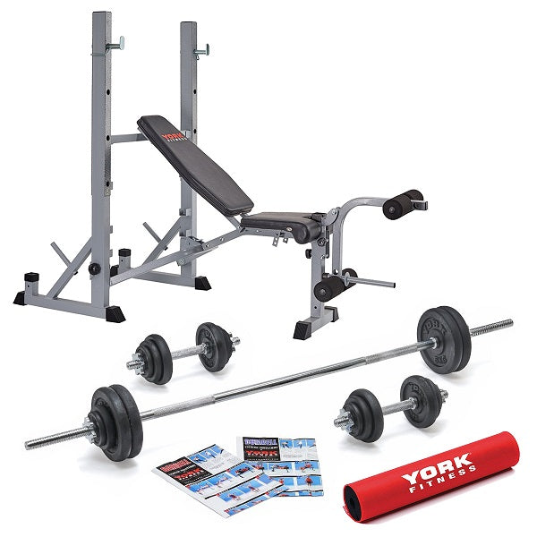 York Fitness 540 Bench Set - Garage Gym Equipment