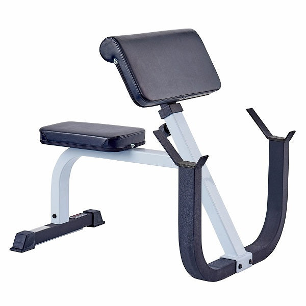 York Barbell FTS Seated Preacher Curl - Garage Gym Equipment