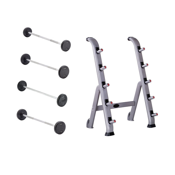 York Barbell Pro Style Fixed Weight Barbells & Sets