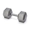 York Fitness Grey Cast Hex Dumbbells