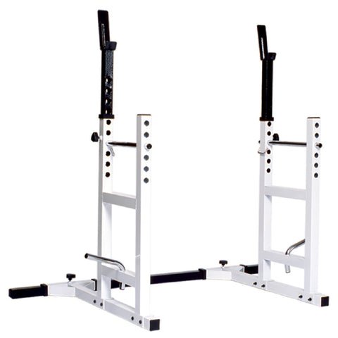 York Barbell Pro Series 204 Adjustable Squat Rack & Bench Press