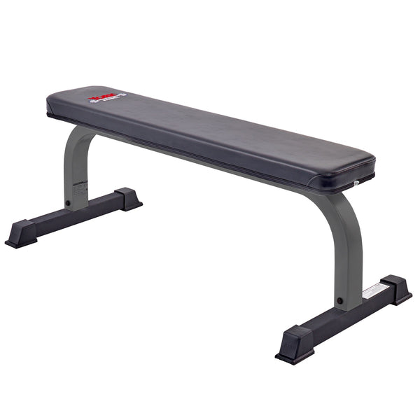 York Barbell FTS Flat Bench (Grey)