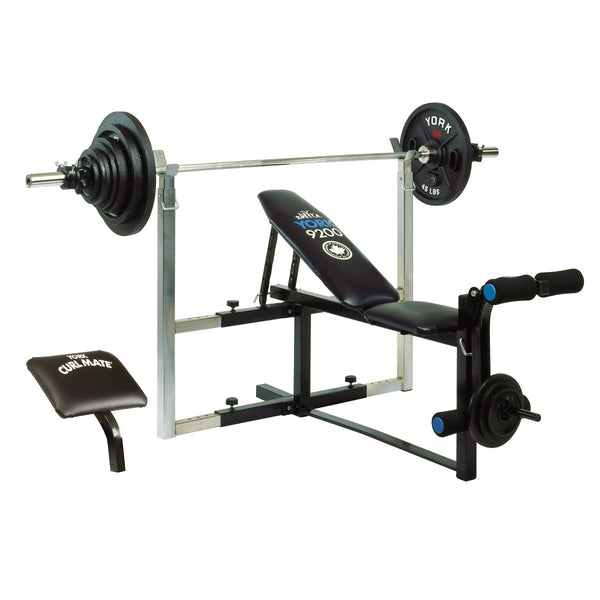 York Fitness 9200 Expandable Bench