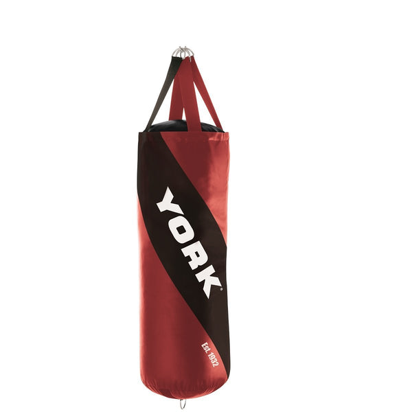 York Fitness 4 FT Leather Punch Bag