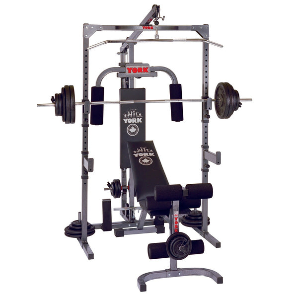 York Fitness 3000 Power Lifting Station Home Gym