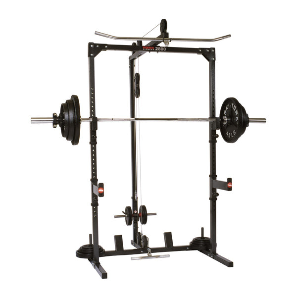 York Fitness 2800 Power Cage Home Gym