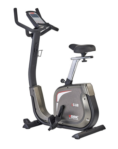 York Fitness LC Upright Exercise Bike