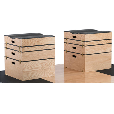 York Barbell Stackable Jerk / Plyometric Boxes & Sets