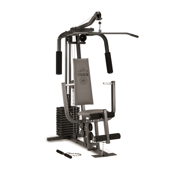 Gymnastics Equipment In Canada: 7240 Home Multi Gym With Leg Press