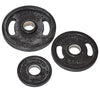 Sportline Rubber Olympic Weight Plates