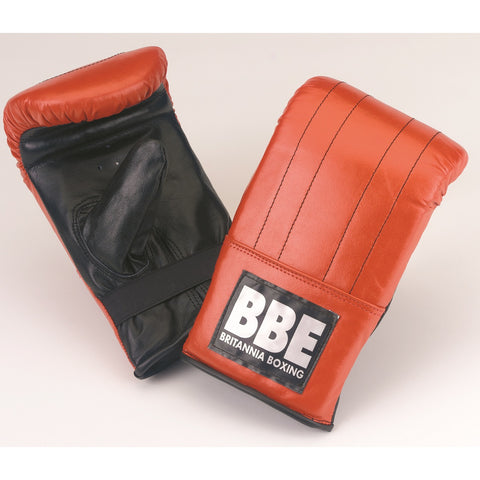 BBE CLUB 7 oz Leather Punching Bag Mitts