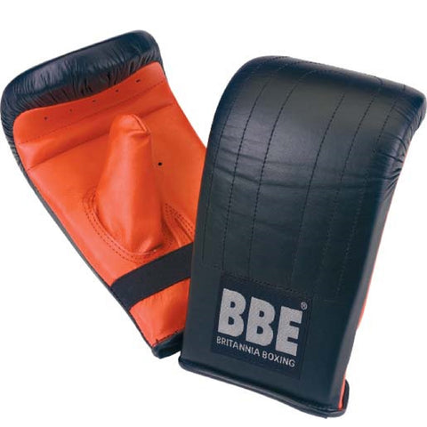 BBE CLUB 8 oz Premium Leather Punching Bag Mitts