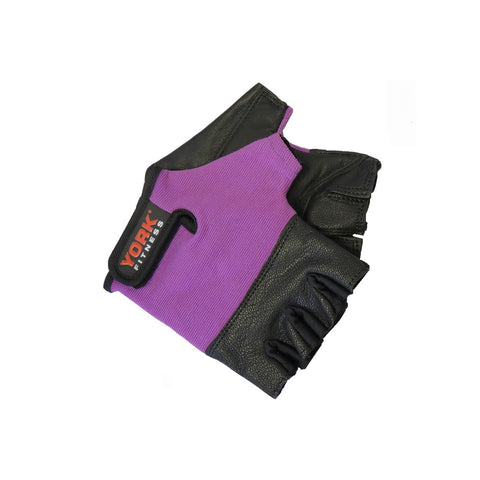 York Fitness Ladies Leather Weightlifting Glove