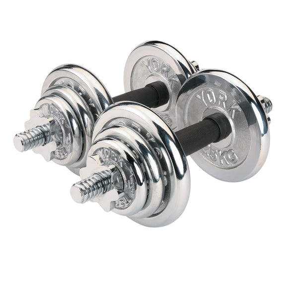 Chrome Dumbbell Plate ADJUSTABLE weights weight lifting plates bicep gym body