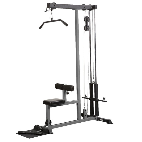 York Barbell FTS Lat Pull Down and Low Row (Grey)
