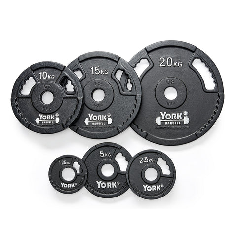 G2 Cast Iron Olympic Weight Plates