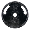 York Barbell G2 Rubber Thin Line Olympic Weight Plates