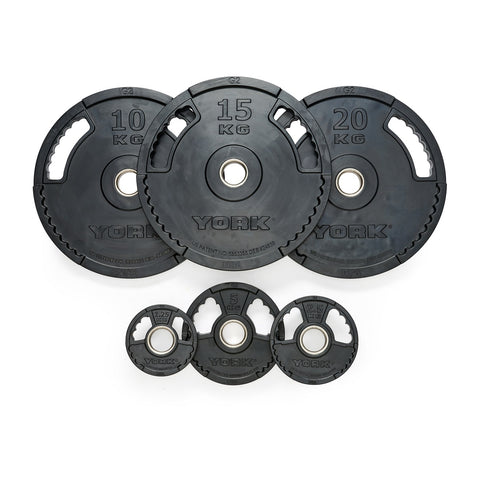G2 Rubber Thin Line Olympic Weight Plates