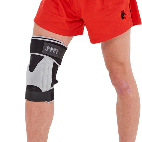 York Fitness Adjustable Stabilised Knee Support