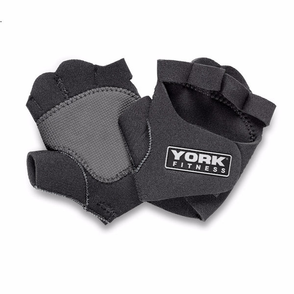 York Fitness Neoprene Training Gloves